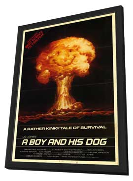 A Boy and His Dog - 11 x 17 Movie Poster - Style A - in Deluxe Wood Frame