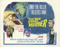 Boy Cried Murder - 11 x 14 Movie Poster - Style A