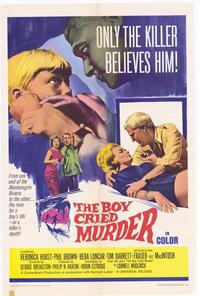 Boy Cried Murder - 11 x 17 Movie Poster - Style A