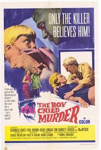 Boy Cried Murder - 27 x 40 Movie Poster - Style A