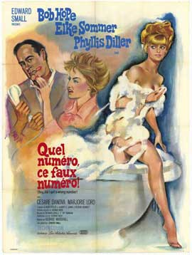 Boy, Did I Get a Wrong Number! - 11 x 17 Movie Poster - French Style A