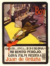 Boy - 11 x 17 Movie Poster - Spanish Style B