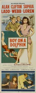 Boy on a Dolphin - 14 x 36 Movie Poster - Insert Style A