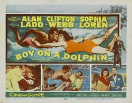 Boy on a Dolphin - 11 x 14 Movie Poster - Style H
