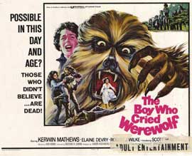 Boy Who Cried Werewolf - 11 x 14 Movie Poster - Style A