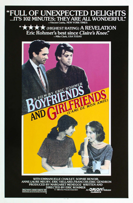 Boyfriends and Girlfriends - 27 x 40 Movie Poster - Style B