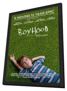 Boyhood - 11 x 17 Movie Poster - Style A - in Deluxe Wood Frame