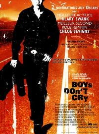 Boys Don't Cry - 43 x 62 Movie Poster - French Style A