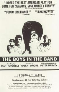 Boys In The Band, The (Broadway) - 14 x 22 Poster - Style A