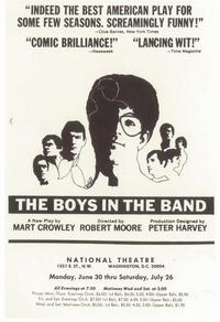 Boys In The Band, The (Broadway) - 11 x 17 Poster - Style A