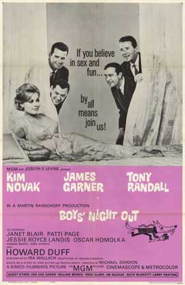 Boys' Night Out - 11 x 17 Movie Poster - Style A