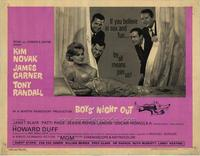 Boys' Night Out - 22 x 28 Movie Poster - Half Sheet Style A