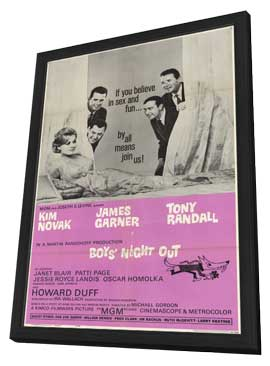 Boys' Night Out - 11 x 17 Movie Poster - Style A - in Deluxe Wood Frame