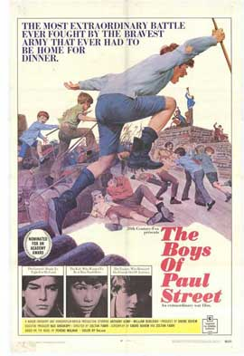 Boys of Paul Street - 11 x 17 Movie Poster - Style A