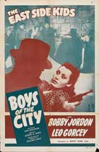 Boys of the City - 11 x 17 Movie Poster - Style A