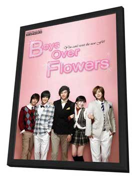 Boys Over Flowers: Final - 11 x 17 TV Poster - Style A - in Deluxe Wood Frame