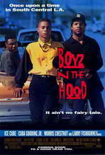 Boyz N the Hood - 27 x 40 Movie Poster - Style A