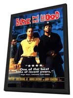Boyz N the Hood - 11 x 17 Movie Poster - Style C - in Deluxe Wood Frame
