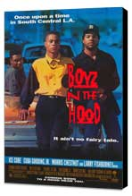 Boyz N the Hood - 11 x 17 Movie Poster - Style A - Museum Wrapped Canvas