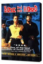 Boyz N the Hood - 11 x 17 Movie Poster - Style C - Museum Wrapped Canvas