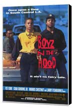 Boyz N the Hood - 27 x 40 Movie Poster - Style A - Museum Wrapped Canvas