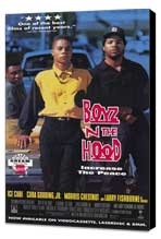 Boyz N the Hood - 27 x 40 Movie Poster - Style B - Museum Wrapped Canvas
