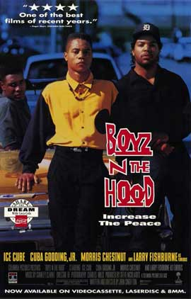 Boyz N the Hood - 11 x 17 Movie Poster - Style B