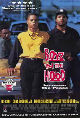 Boyz N the Hood - 27 x 40 Movie Poster - Style B