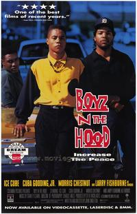 Boyz N the Hood - 43 x 62 Movie Poster - Bus Shelter Style A