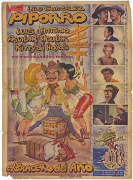 El Bracero del a�o - 11 x 17 Movie Poster - Spanish Style A