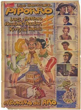 El Bracero del a�o - 27 x 40 Movie Poster - Spanish Style A