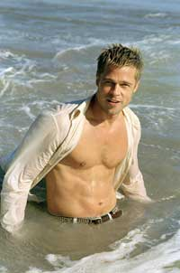 Brad Pitt - 8 x 10 Color Photo #5