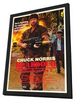 Braddock: Missing in Action 3 - 27 x 40 Movie Poster - Style A - in Deluxe Wood Frame