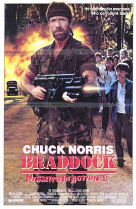 Braddock: Missing in Action 3 - 11 x 17 Movie Poster - Style A