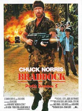 Braddock: Missing in Action III - 11 x 17 Movie Poster - French Style A