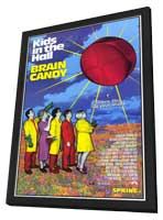 Brain Candy - 27 x 40 Movie Poster - Style A - in Deluxe Wood Frame