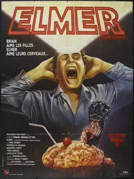 Brain Damage - 11 x 17 Movie Poster - French Style A