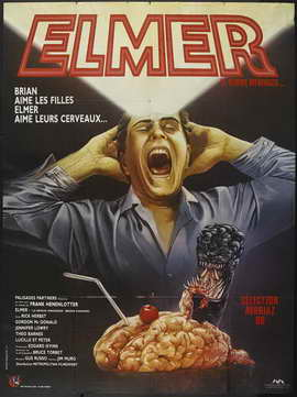 Brain Damage - 27 x 40 Movie Poster - French Style A