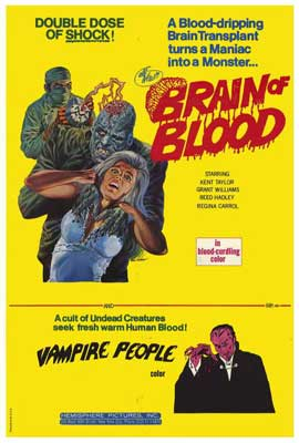 Brain of Blood - 27 x 40 Movie Poster - Style A