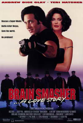 Brain Smasher. . .A Love Story - 11 x 17 Movie Poster - Style A