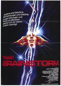 Brainstorm - 27 x 40 Movie Poster - German Style A
