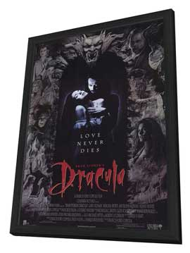 Bram Stoker's Dracula - 11 x 17 Movie Poster - Style A - in Deluxe Wood Frame