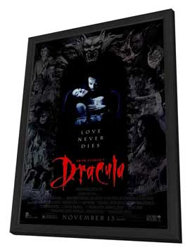 Bram Stoker's Dracula - 27 x 40 Movie Poster - Style A - in Deluxe Wood Frame