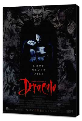 Bram Stoker's Dracula - 27 x 40 Movie Poster - Style A - Museum Wrapped Canvas