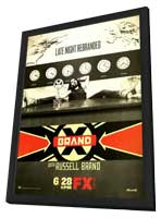Brand X (TV) - 11 x 17 TV Poster - Style A - in Deluxe Wood Frame