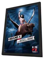 Brand X (TV) - 11 x 17 TV Poster - Style B - in Deluxe Wood Frame
