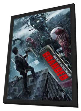 Branded - 11 x 17 Movie Poster - Style A - in Deluxe Wood Frame