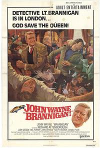 Brannigan - 11 x 17 Movie Poster - Style B