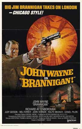 Brannigan - 11 x 17 Movie Poster - Style C