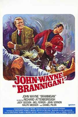 Brannigan - 11 x 17 Movie Poster - Style D